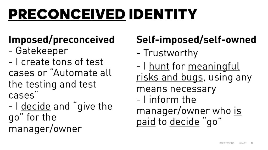 PRECONCEIVED IDENTITY JUN-19 DEEP TESTING 12 Im...