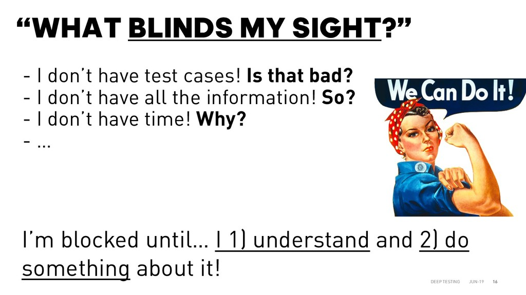 """WHAT BLINDS MY SIGHT?"" JUN-19 DEEP TESTING 16 ..."