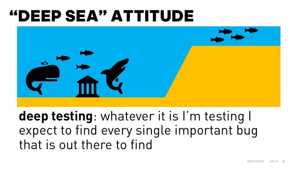 """DEEP SEA"" ATTITUDE JUN-19 DEEP TESTING 8 deep ..."