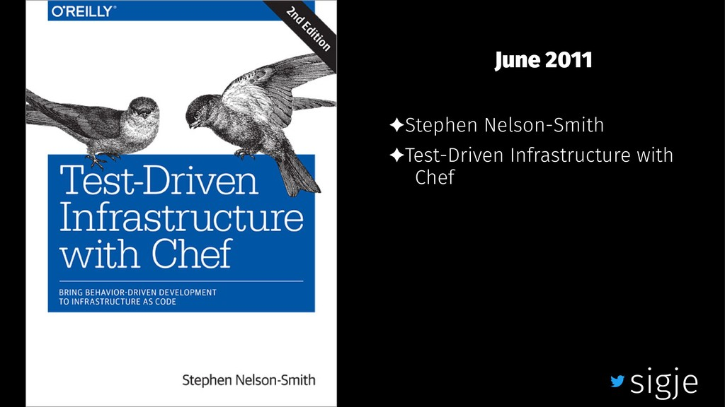 June 2011 ✦Stephen Nelson-Smith ✦Test-Driven In...