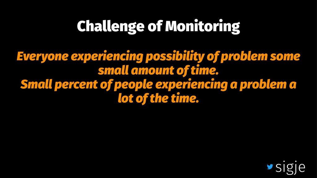 Challenge of Monitoring Everyone experiencing p...