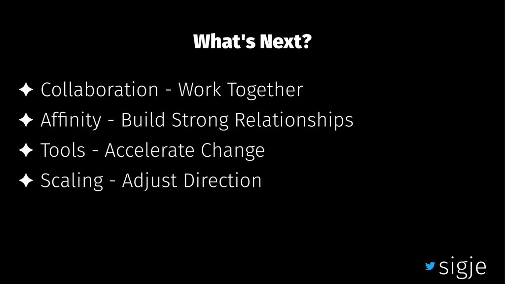 What's Next? ✦ Collaboration - Work Together ✦ ...