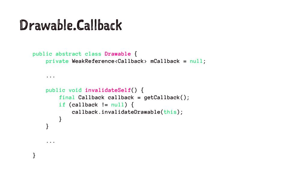Drawable.Callback public abstract class Drawabl...