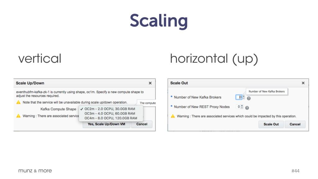 Scaling munz & more #44 horizontal (up) vertical