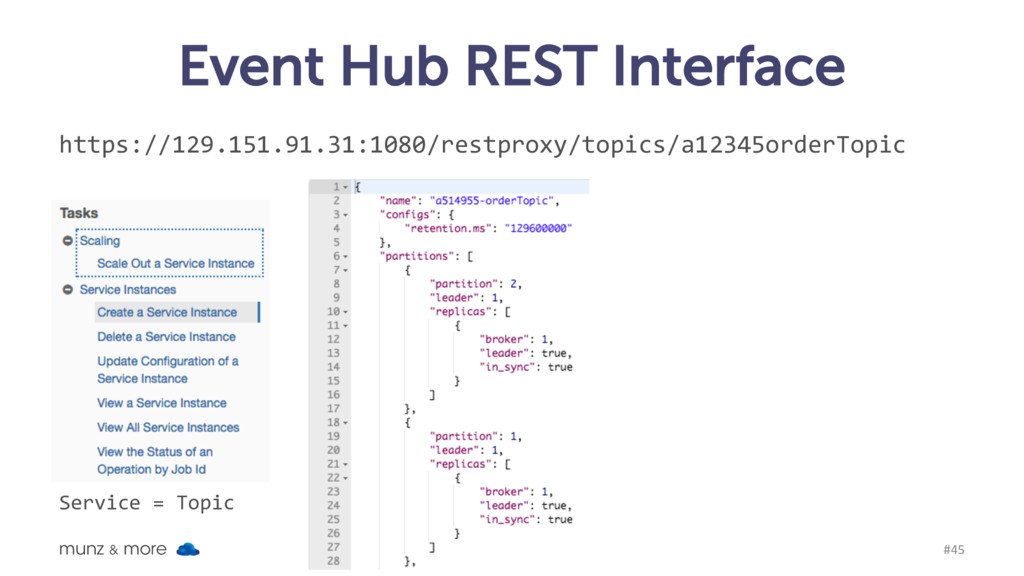 Event Hub REST Interface munz & more #45 https:...