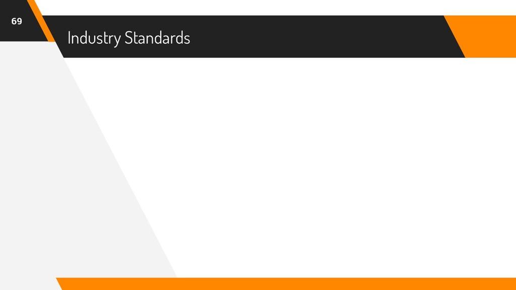 Industry Standards 69