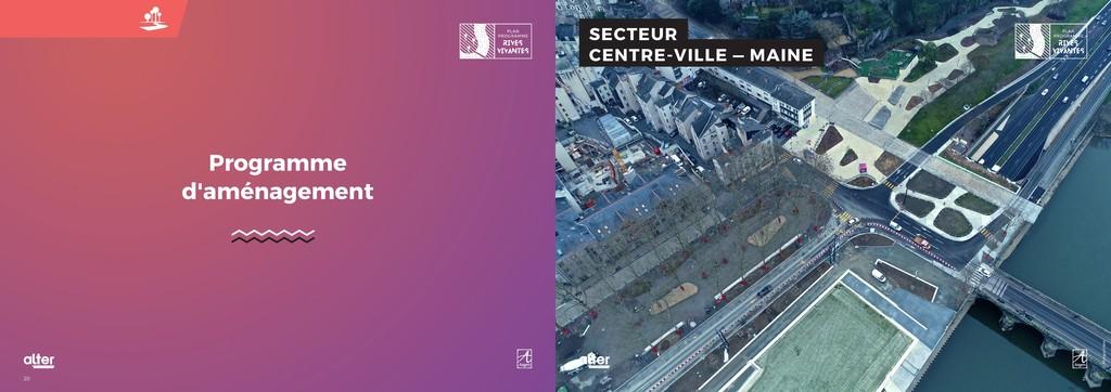 21 20 SECTEUR CENTRE-VILLE — MAINE Programme d'...