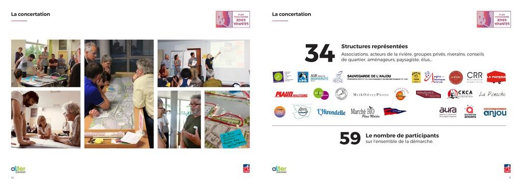 11 10 La concertation La concertation Le nombre...