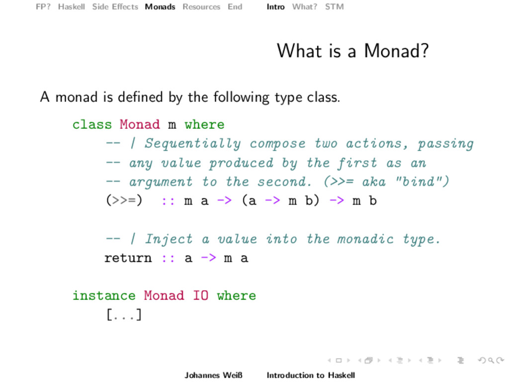 FP? Haskell Side Effects Monads Resources End In...
