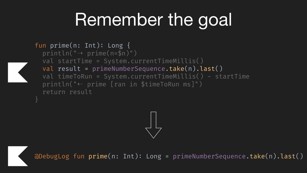 @DebugLog fun prime(n: Int): Long = primeNumber...