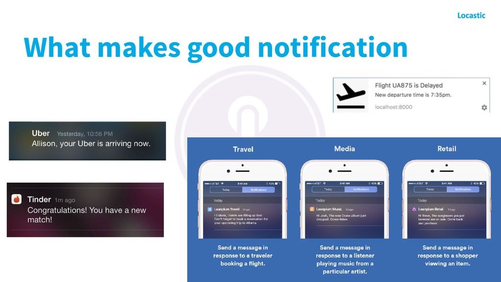 What makes good notification