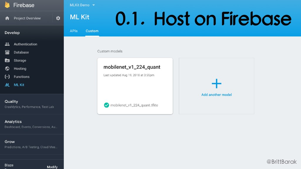 0.1. Host on Firebase @BrittBarak