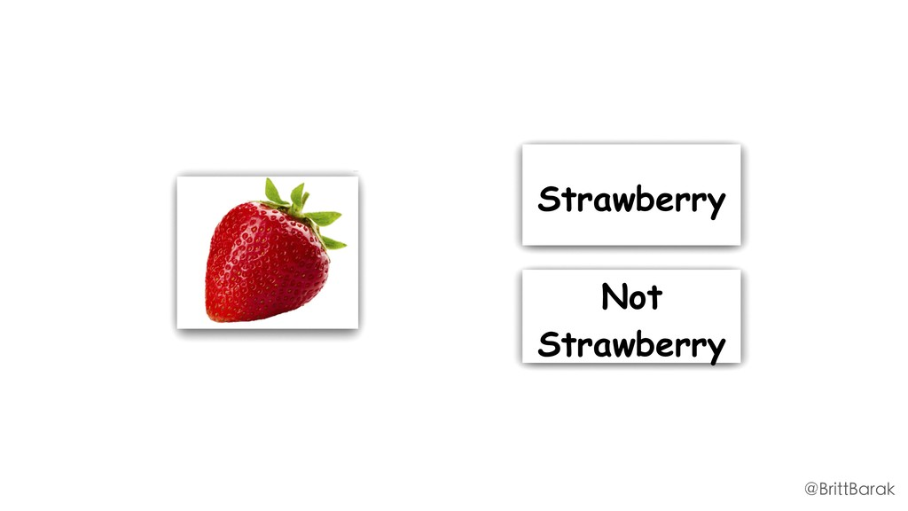 Strawberry Not Strawberry @BrittBarak