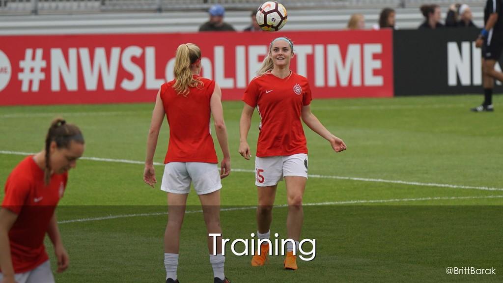 Training @BrittBarak