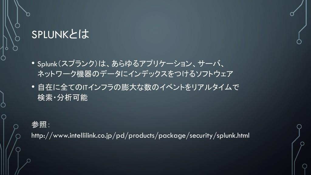 SPLUNK • Splunk<(159$= 16%;'49&;/ .+-...