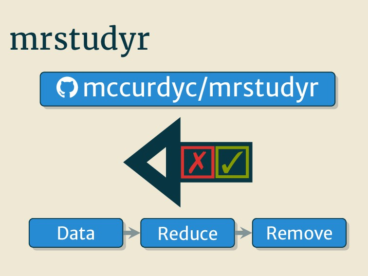 mrstudyr   mccurdyc/mrstudyr Reduce Data Remo...