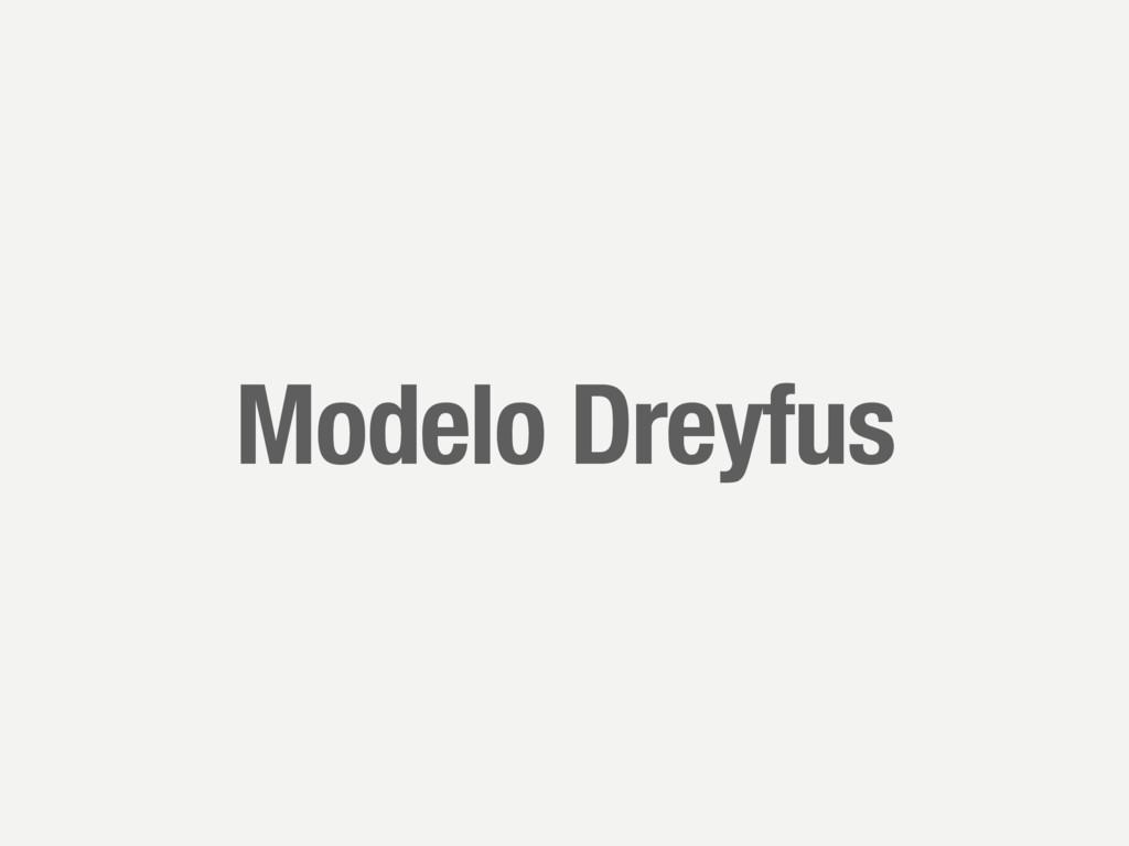 Modelo Dreyfus