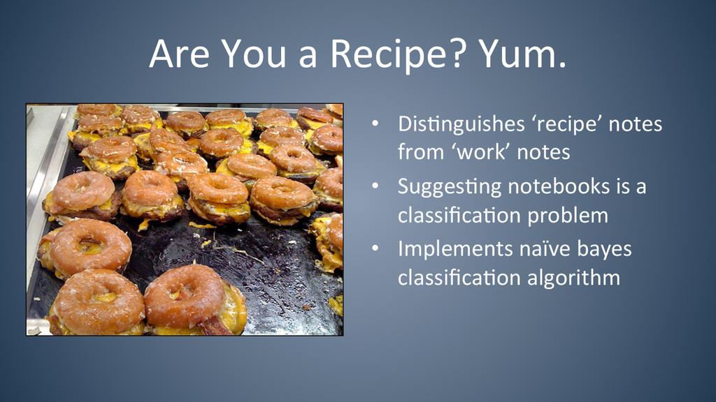 Are You a Recipe? Yum.  • Dis6n...