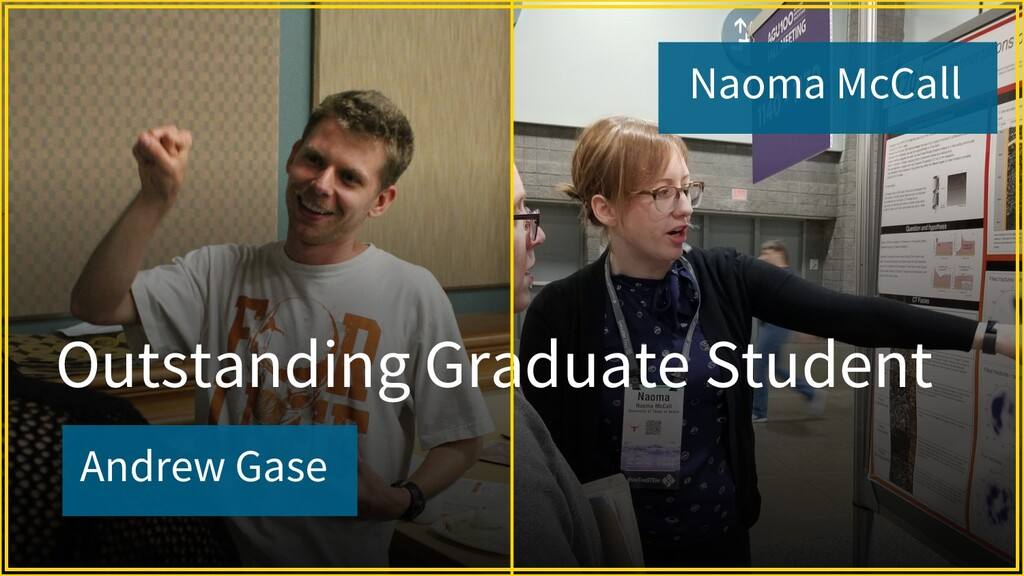 Andrew Gase Outstanding Graduate Student Naoma ...
