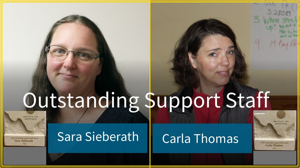Sara Sieberath Carla Thomas Outstanding Support...