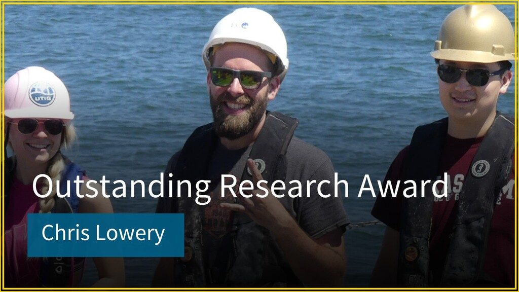 Chris Lowery Outstanding Research Award