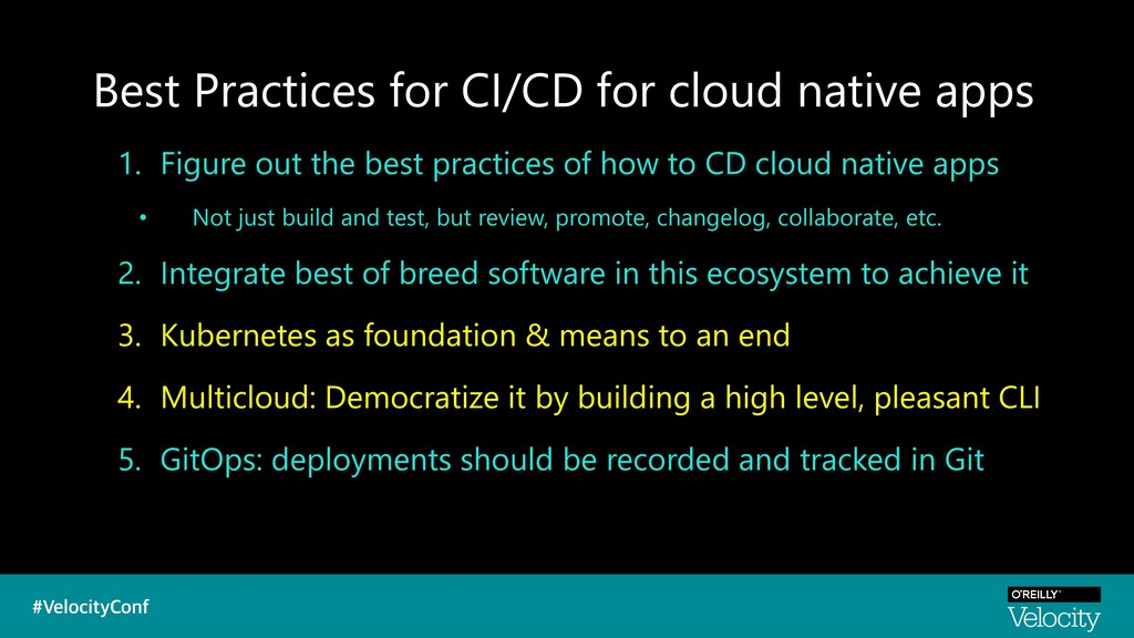 Best Practices for CI/CD for cloud native apps ...