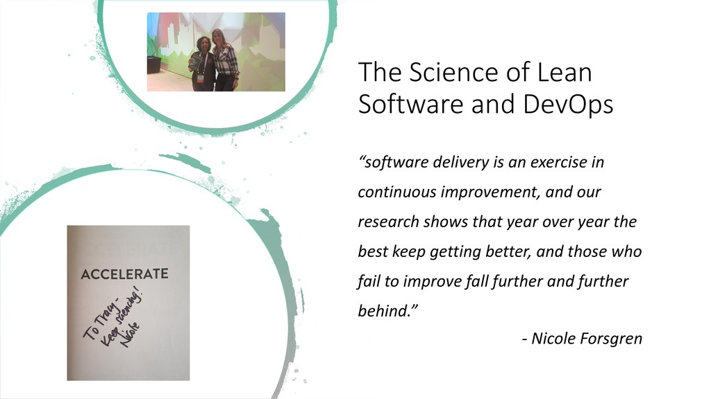 """The Science of Lean Software and DevOps """"softwa..."""