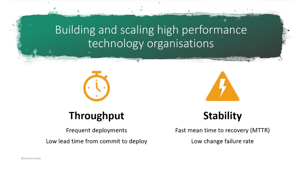 Building and scaling high performance technolog...