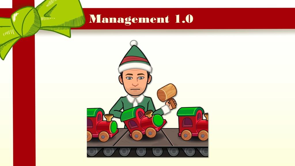 Management 1.0