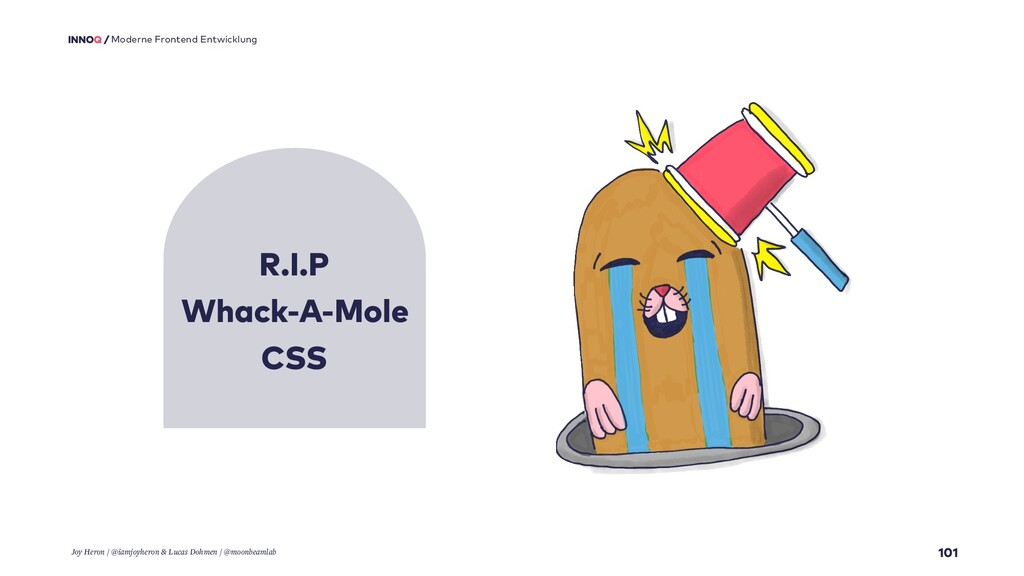 R.I.P Whack-A-Mole CSS 101 Moderne Frontend Ent...