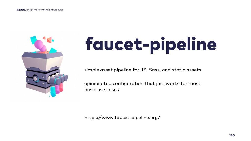 140 faucet-pipeline Moderne Frontend Entwicklun...