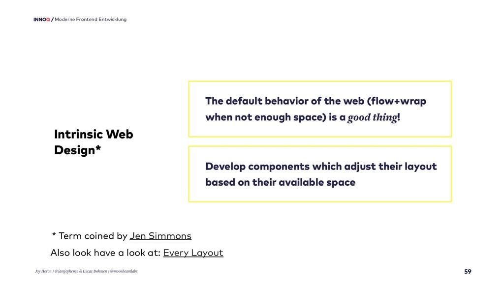 59 Moderne Frontend Entwicklung Intrinsic Web D...