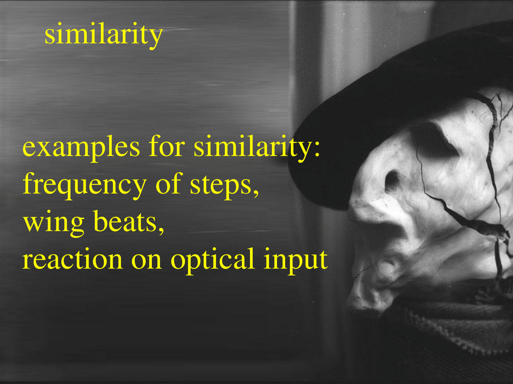 similarity examples for similarity: frequency o...