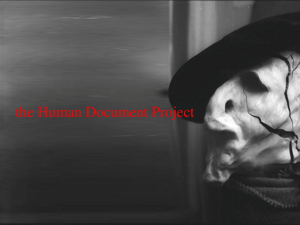 the Human Document Project