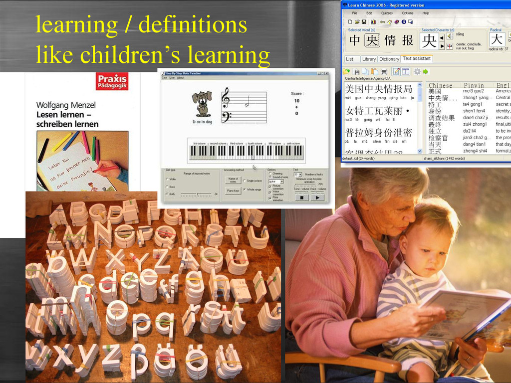learning / definitions like children's learning