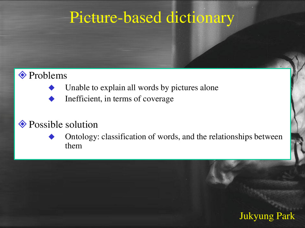 Picture-based dictionary Problems  Unable to ...