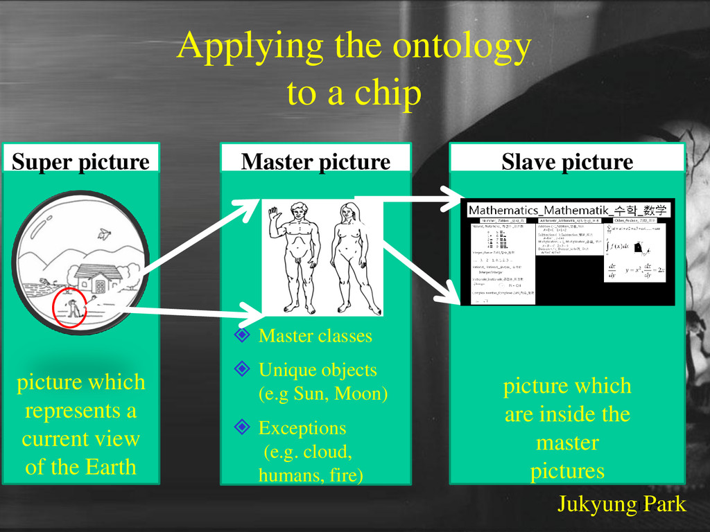 Applying the ontology to a chip Super picture p...