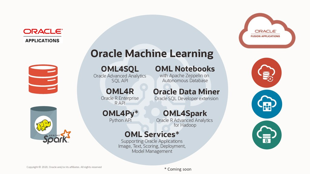d Oracle Machine Learning OML Services* Support...