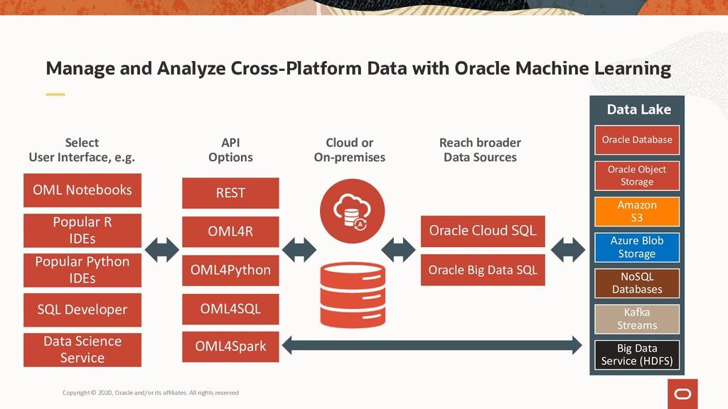 Manage and Analyze Cross-Platform Data with Ora...