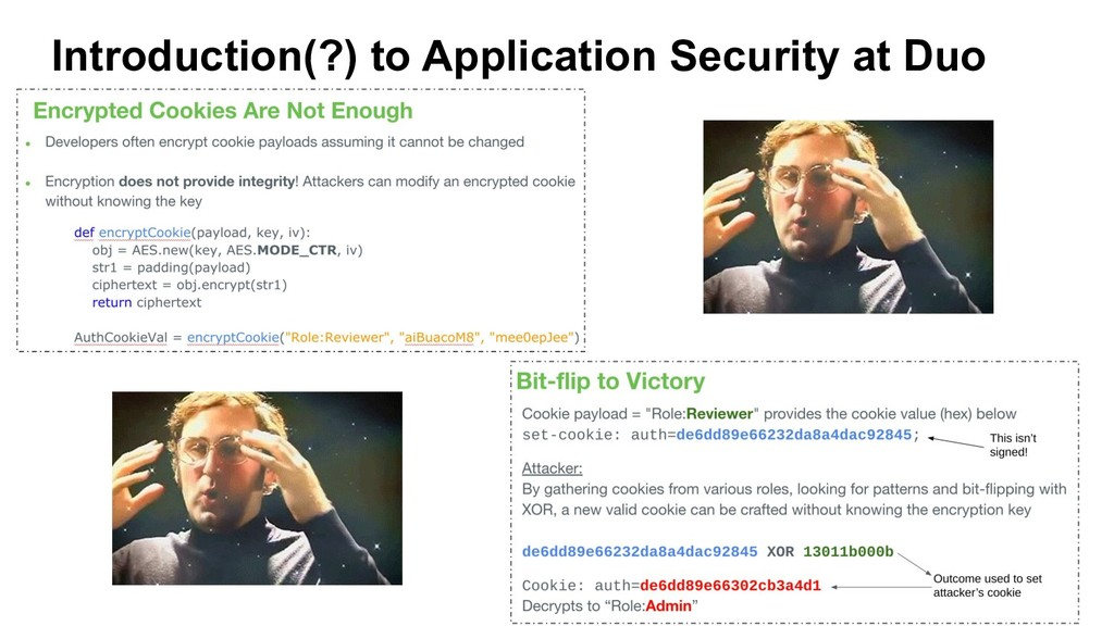 Introduction(?) to Application Security at Duo