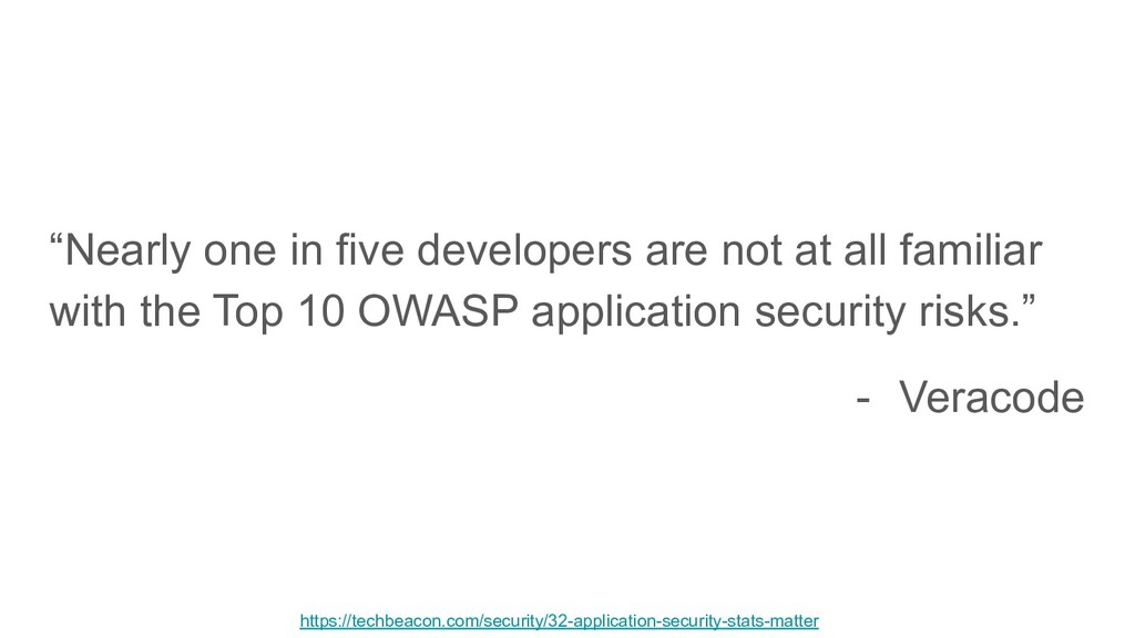"""""""Nearly one in five developers are not at all f..."""