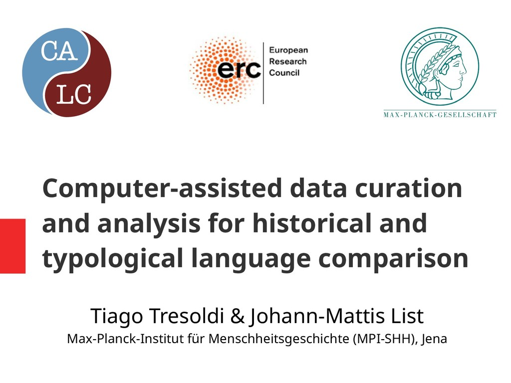 Computer-assisted data curation and analysis fo...