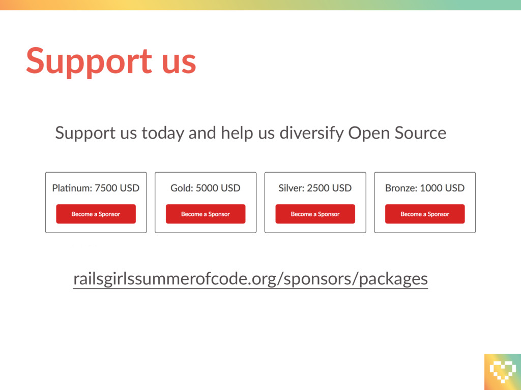 Support us today and help us diversify Open Sou...