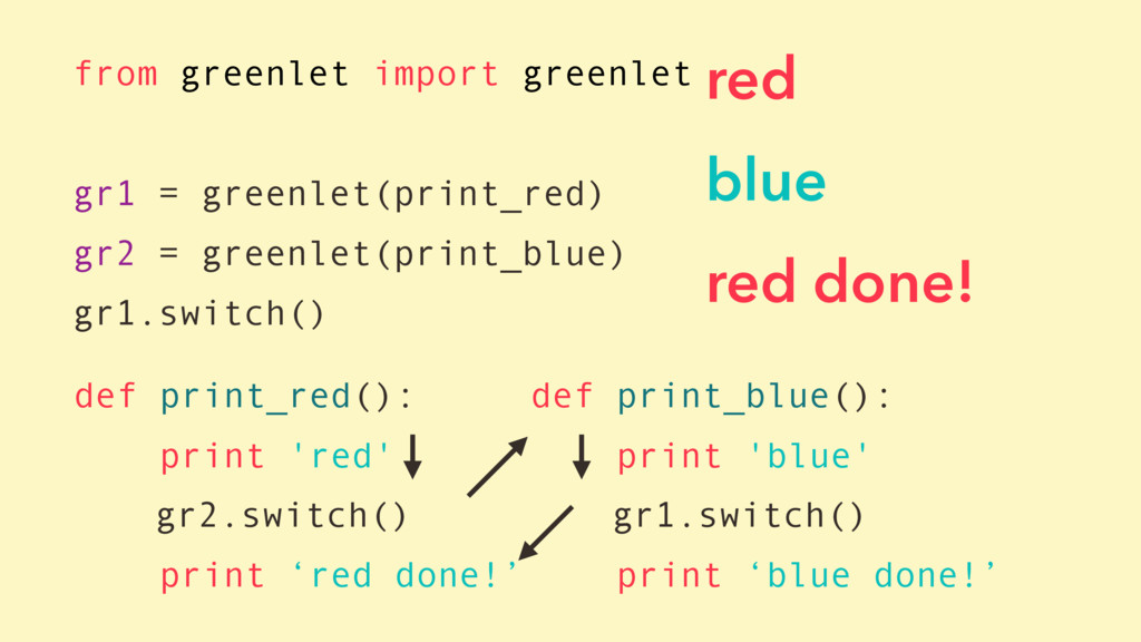 def print_red(): print 'red' gr2.switch() print...