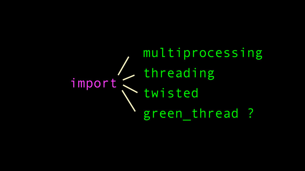 import multiprocessing threading twisted green_...