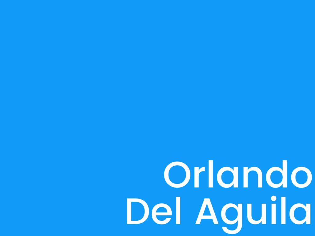 Orlando Del Aguila