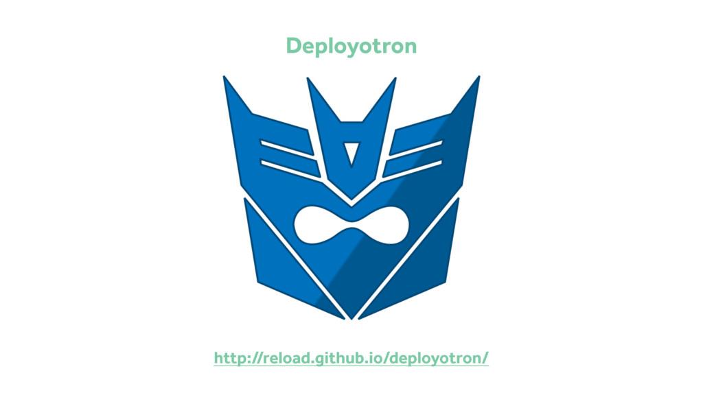 http://reload.github.io/deployotron/ Deployotron