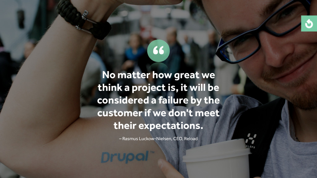 No matter how great we think a project is, it w...