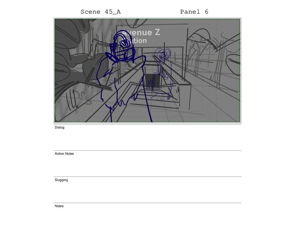 Scene 45_A Panel 6 Dialog Action Notes Slugging...