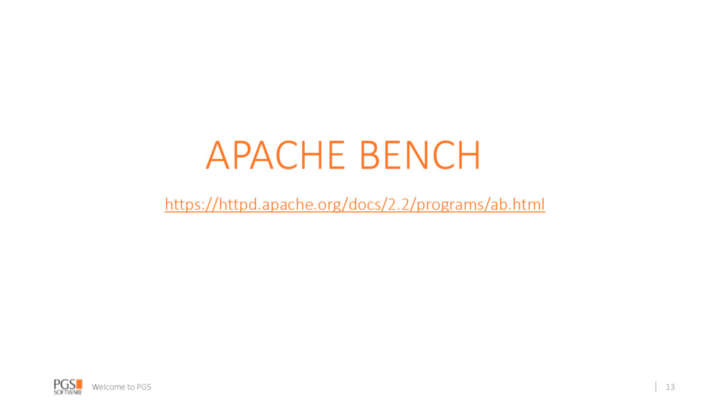 Welcome to PGS APACHE BENCH https://httpd.apach...